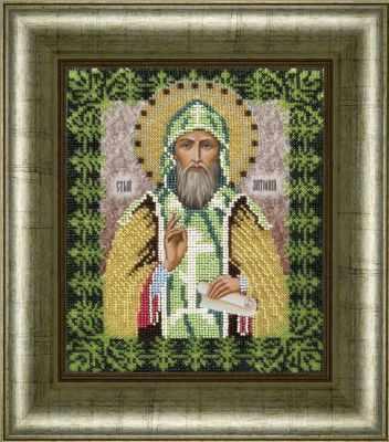 Набор для вышивания иконы Вышиваем бисером L-87 Святой Антон набор для вышивания иконы вышиваем бисером l 68 святой пантелеймон целитель