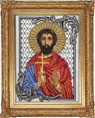 Набор для вышивания иконы Вышиваем бисером L-99 Евгений Святой набор для вышивания иконы вышиваем бисером l 68 святой пантелеймон целитель