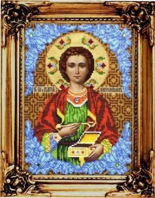 Набор для вышивания иконы Вышиваем бисером L-68 Святой Пантелеймон Целитель набор для вышивания иконы вышиваем бисером l 68 святой пантелеймон целитель