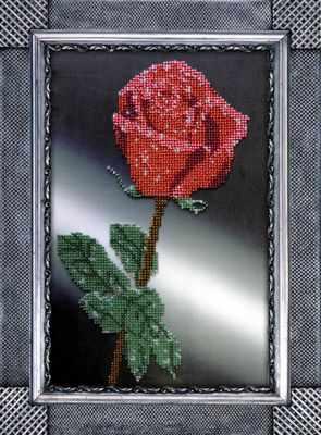 Фото - Набор для вышивания Вышиваем бисером B-8 Роза роза вышивка