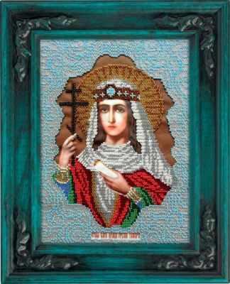Набор для вышивания иконы Вышиваем бисером L-100 Святая Тамара