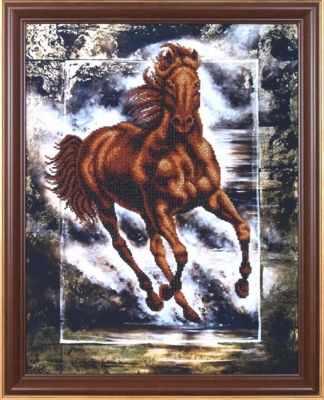 Б-053 Победный конь - Магия канвы