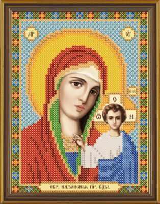 Бис 5015 Пресвятая Богородица Казанская (рисунок на ткани)
