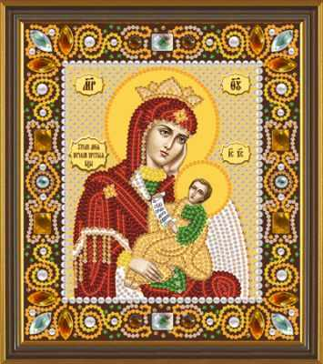 Набор для вышивания иконы Nova Sloboda Д 6006 Божья Матерь Утоли мои печали