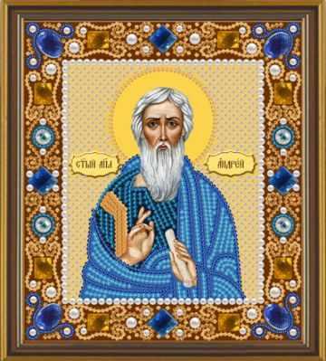 цена на Набор для вышивания иконы Nova Sloboda Д 6104 Св.Апостол Андрей Первозванный