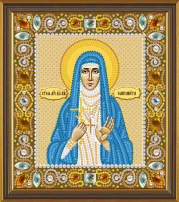 Набор для вышивания иконы Nova Sloboda Д 6154 Св. Прмц. Елизавета