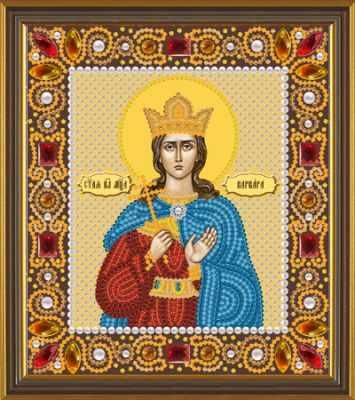 Набор для вышивания иконы Nova Sloboda Д 6163 Св. Вмц. Варвара