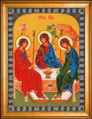 Набор для вышивания иконы Nova Sloboda СК 9004 Св. Троица