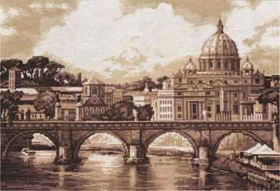 """GM-1332 """"Рим. Собор святого Петра"""""""