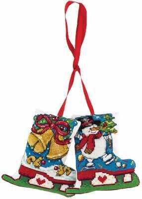 Набор для вышивания Panna ИГ-1518 Новогоднее украшение. Коньки украшение коньки magic home
