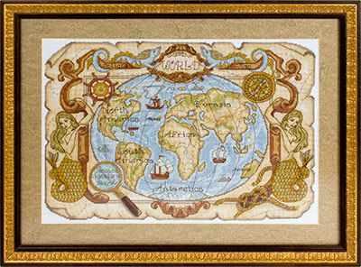 МО-0986 Старинная карта