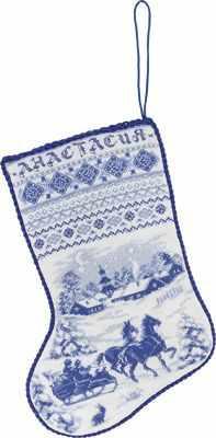 Набор для вышивания Panna PR-1479 Рождественский сапожок 0 pr на 100