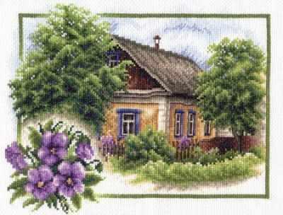 Фото - Набор для вышивания Panna PS-0322Лето в деревне набор для вышивания panna ps 1615 осенний венок