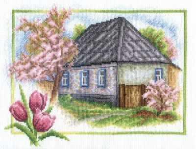 """PS-0332 """"Весна в деревне"""""""