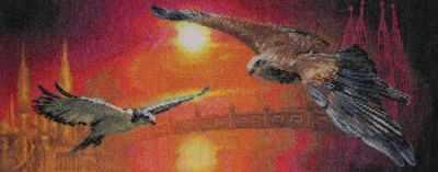Набор для вышивания Panna ПТ-0326 Два неба
