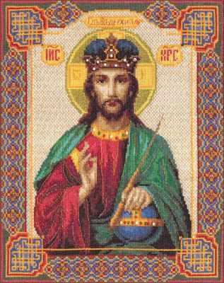 Набор для вышивания иконы Panna ЦМ-0808 Икона Господь Вседержитель