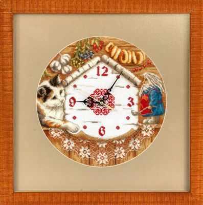 Набор для вышивания Panna Ч-1393 Часы