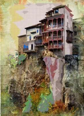 Дом на скале (Простор) - Схемы для вышивки «Простор»