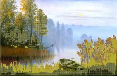 Туман на реке (Простор) - Схемы для вышивки «Простор»