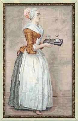 Набор для вышивания Риолис (Сотвори Сама) 100/023 «Ж.Э. Лиотар Шоколадница»