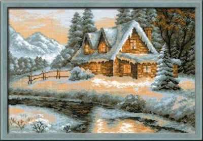 """1080 """"Зимний пейзаж"""""""