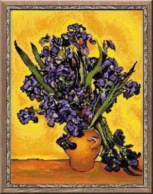 """1087 Ван Гог """"Ирисы"""""""