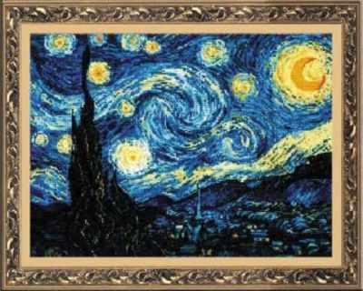 "1088 Ван Гог ""Звёздная ночь»"