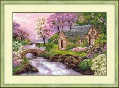 """1098 """"Весенний пейзаж"""""""