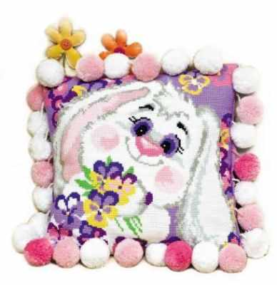 Набор для вышивания Риолис (Сотвори Сама) 1099 Подушка «Кролик»