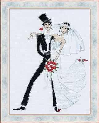 """Набор для вышивания Риолис (Сотвори Сама) 1179 """"Свадебное танго"""""""