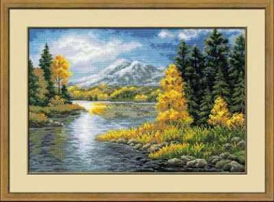 """1235 """"Озеро в горах"""""""