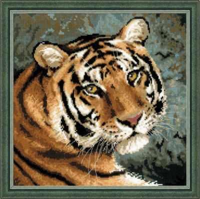 Набор для вышивания Риолис (Сотвори Сама) 1282 Амурский тигр