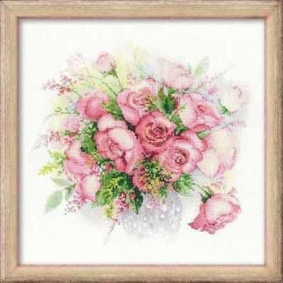 """1335 """"Акварельные розы"""""""