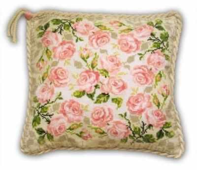Фото - Набор для вышивания Риолис (Сотвори Сама) 720 Подушка «Розочки» набор для вышивания риолис сотвори сама 1600 подушка панно венское кружево
