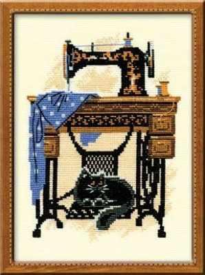 Набор для вышивания Риолис (Сотвори Сама) 857 «Швейная машинка»