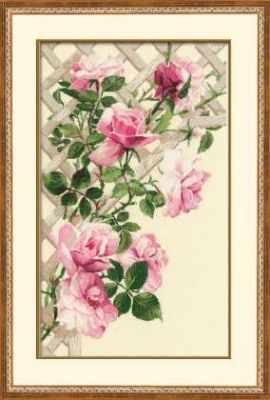 Набор для вышивания Риолис (Сотвори Сама) 898 «Розовые розы» риолис набор для вышивания 1775 розовые маки