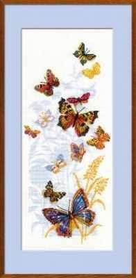 Набор для вышивания Риолис (Сотвори Сама) 902 «Бабочки России»
