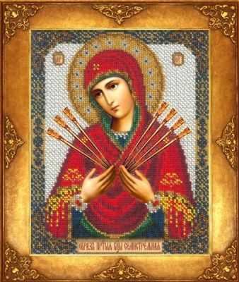 Купить со скидкой 355 Св. Богородица Семистрельная (РИ)