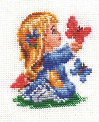 цена на Набор для вышивания Сделай своими руками Д-06 Детство