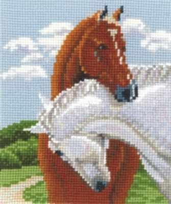Набор для вышивания Сделай своими руками П-27 Пара лошадей