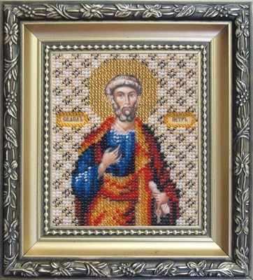 Б-1050  Икона апостола Петра   чм - Наборы для вышивания икон «Чарiвна Мить»
