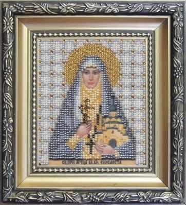 Б-1071  Икона Святой преподобной мученицы Елисаветы    чм - Наборы для вышивания икон «Чарiвна Мить»