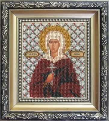 Б-1080  Икона Святой мученицы Лидии   чм - Наборы для вышивания икон «Чарiвна Мить»