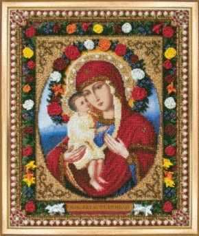 Б-1082 Икона Божьей Матери Жировицкая-чм