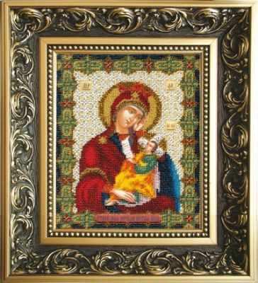Б-1109  Икона Божьей Матери Утоли моя печали   чм - Наборы для вышивания икон «Чарiвна Мить»