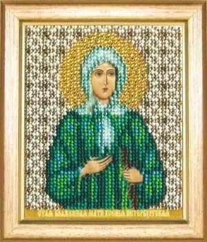 Б-1152  Ксения Петербургская   чм - Наборы для вышивания икон «Чарiвна Мить»