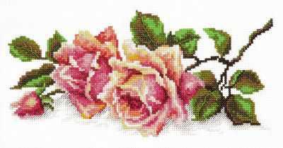 40-48 Аромат розы - Наборы для вышивания «Чудесная игла»