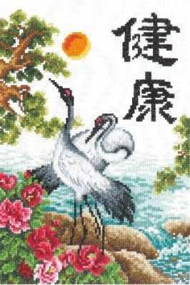 Набор для вышивания Чудесная игла 87-02 Здоровье 1872 романтик чудесная игла чудесная игла