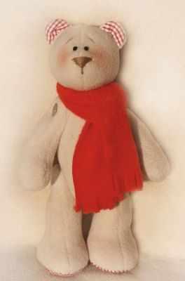 Набор для изготовления игрушки Ваниль B002 Bears story набор для изготовления игрушки