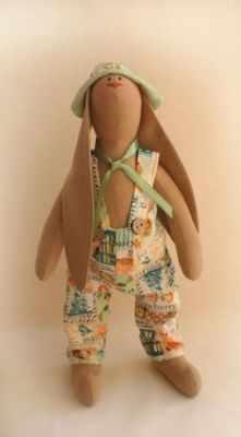 Купить со скидкой R002 Rabbits story набор для изготовления игрушки